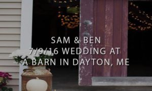 A Barn in Dayton, ME