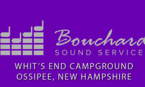Purple Bouchard Sound Services Logo