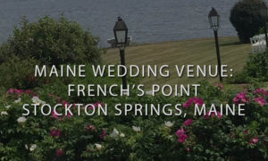 Overlooking Ceremony Spot and French's Point