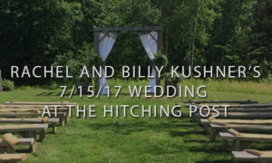 The Hitching Post Ceremony Location