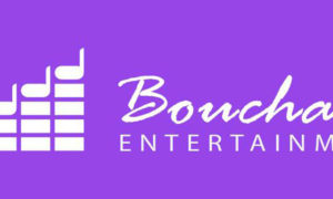 Purple Bouchard Entertainment Logo