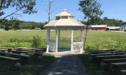 Wedding Venues in Maine | Gazebo at Flaherty's Farm Event Barn