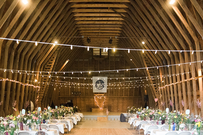 Bill Ellis Photography: The Barn at Round Top Farm inside Reception Area