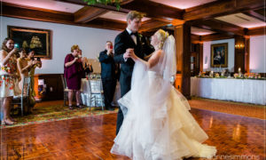 Bride and Groom First Dance at the Bar Harbor Regency