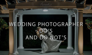 Bride and Groom Dancing in The Dark - Wedding Photographer Do's and Dont's