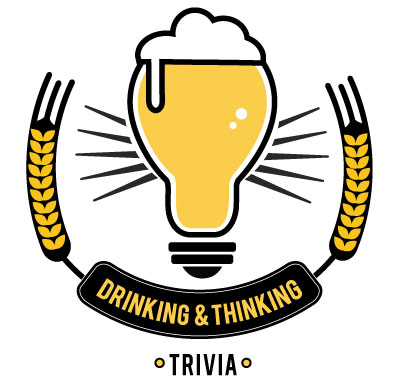 Drinking and Thinking Trivia Logo - Based in Southern Maine - Speed Quizzing Trivia