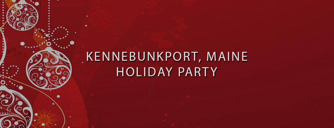 Maine DJs Near ME: Kennebunkport, Maine DJ – Private Holiday Party