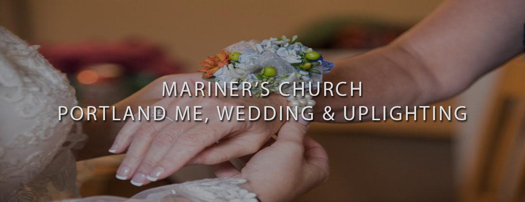 Wedding DJs Near ME: Mariner's Church Portland, Maine DJs – Wedding Uplighting