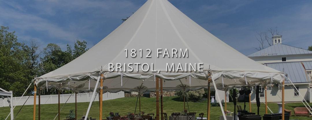 Maine DJs Near ME: 1812 Farm – Bristol, Maine Wedding DJs