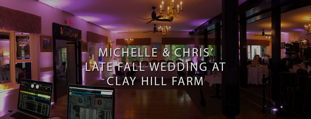 DJs in Maine at Clay Hill Farm in Cape Neddick, Maine Wedding DJ: Bouchard Entertainment
