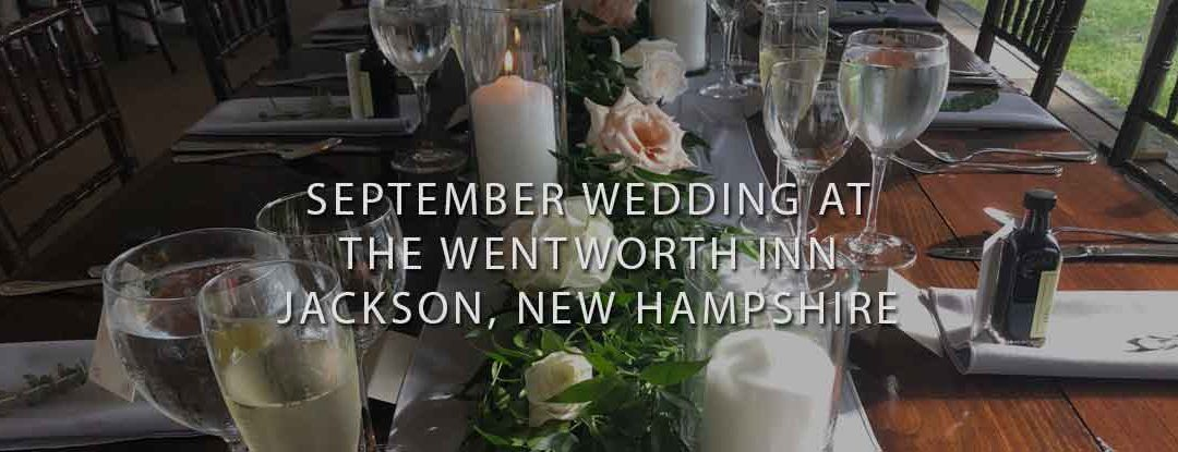 DJs in New Hampshire at The Wentworth Inn, Jackson NH – DJs in Maine & Maine Wedding DJ: Bouchard Entertainment