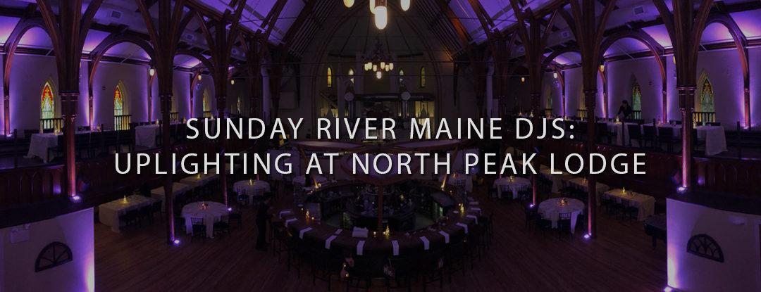 Sunday River, Maine DJs: Maine Wedding DJ Services at North Peak Lodge