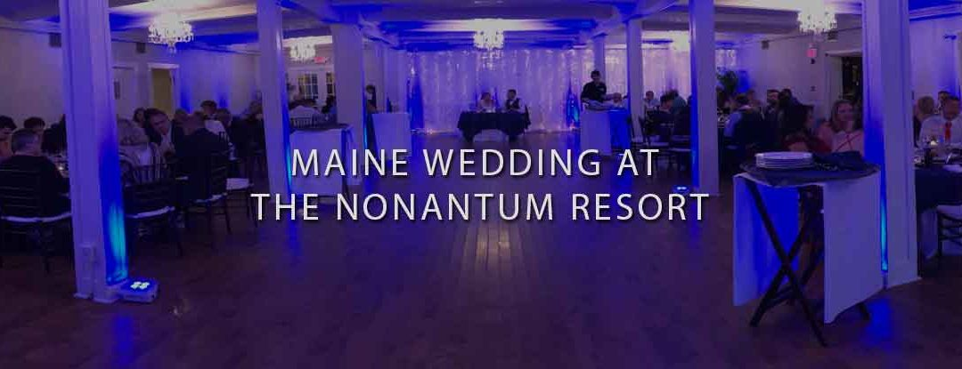 DJs in Maine – Kennebunkport, Maine Wedding DJ at the Nonantum Resort: Bouchard Entertainment