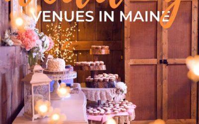 Barn Wedding Venues in Maine