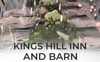 Kings Hill Inn and Barn Wedding Venue in Maine