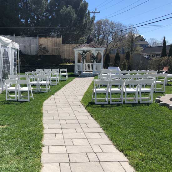 peaks island wedding ceremony spot