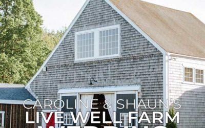 Live Well Farm Wedding Harpswell, Maine   Caroline + Shaun
